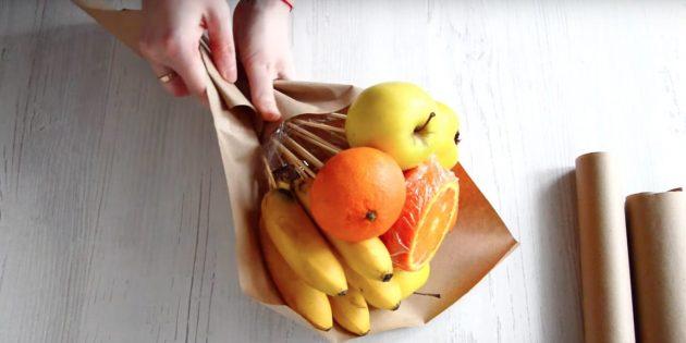 Вкусный овощной букет