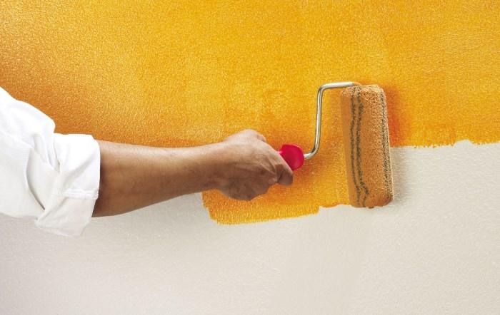 Декоративные краски для стен – виды и особенности нанесения