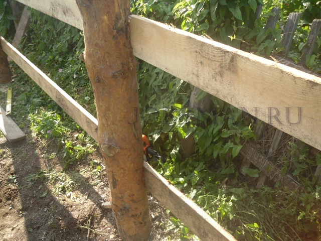 Фото инструкция по сборке забора из дерева