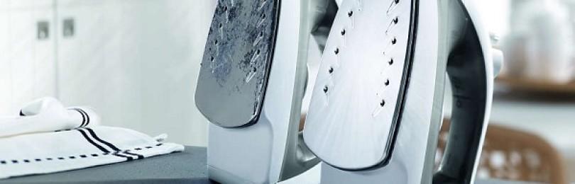 6 надежных рецептов, как очистить утюг от пригоревшей синтетики