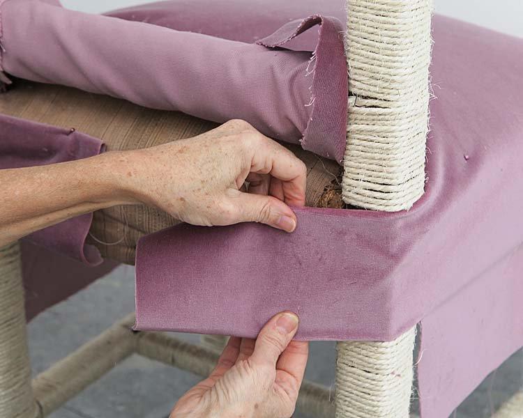 Ремонт старой мягкой мебели своими руками. Как самому перетянуть диван