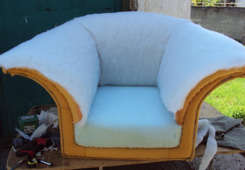 Как заменить поролон в диване своими руками