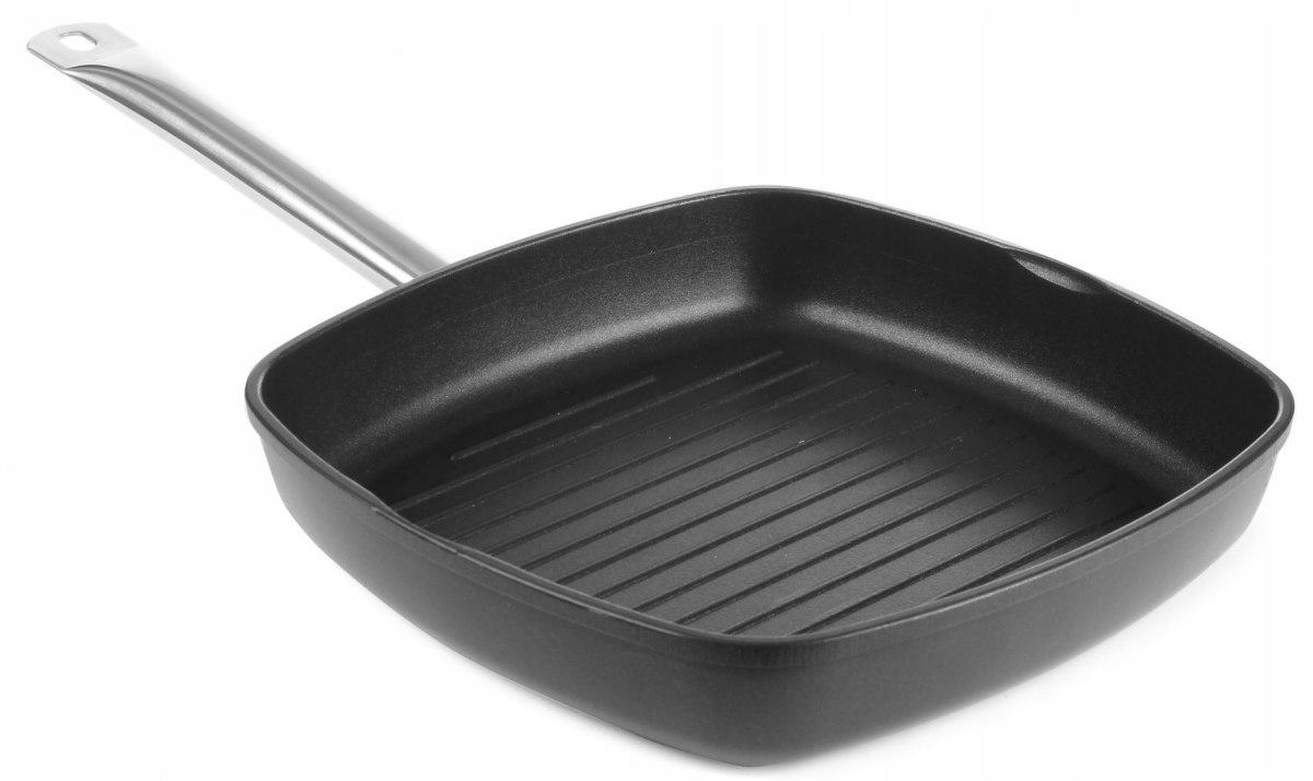 Правильная готовка на сковороде-гриль