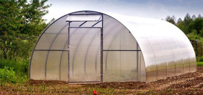 Фундамент для теплицы из поликарбоната: технология создания