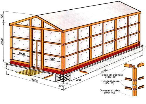 Как поставить теплицу из поликарбоната на участке