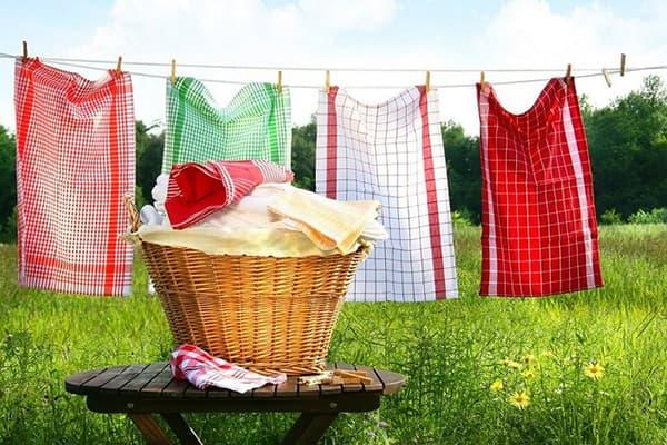 Как постирать кухонные полотенца в домашних условиях – 3 проверенных способа
