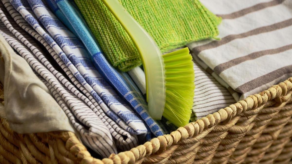Как отстирать кухонные полотенца без кипячения
