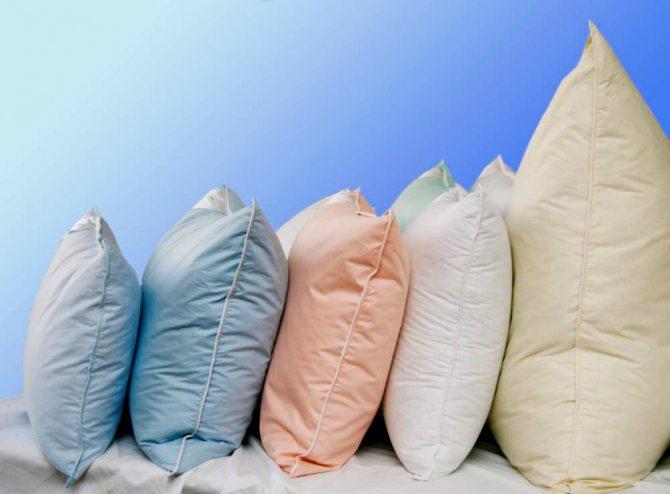 Можно ли стирать перьевые подушки, собственный опыт