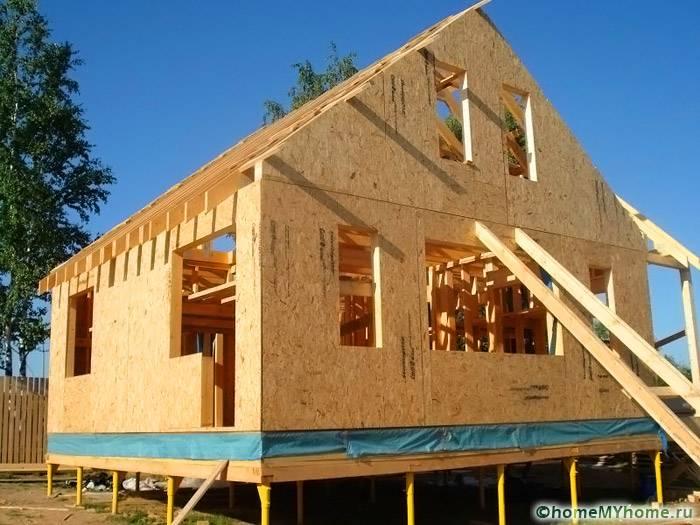 Каркасный дом своими руками: пошаговая инструкция по возведению конструкции