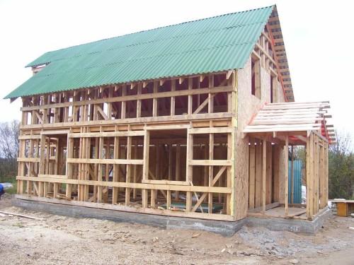 Как построить каркасный дом своими руками; пошаговая инструкция