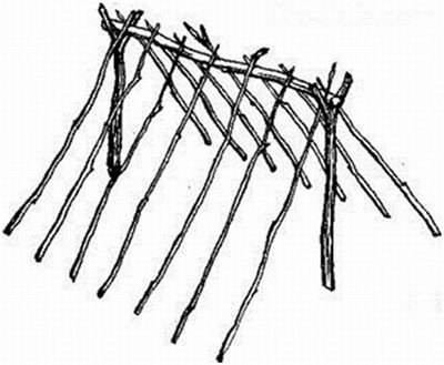 Как сделать шалаш для детей на даче: варианты конструкций для всех возрастов