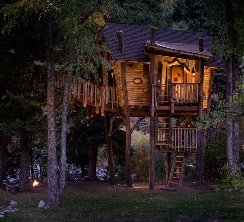 Как построить дом на дереве: 40 фантастических фото-идей и практические советы