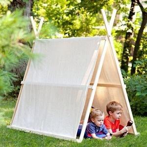 Как построить шалаш в лесу