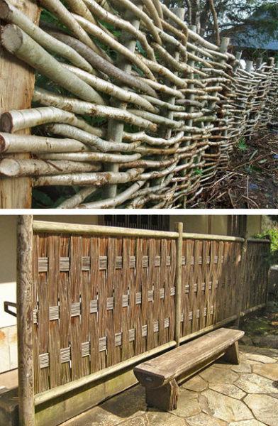 Забор на даче своими руками (38 фото): виды и назначение. Особенности деревянного забора