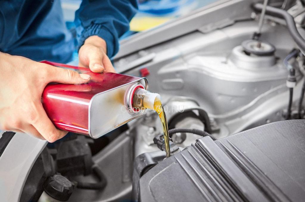 Замена масла Тойота Камри V50: инструкция с фото