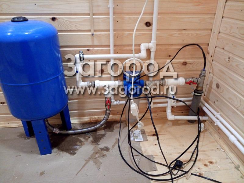 Узел ввода воды в дом: схема заведения водопровода в дом, инструкция как сделать своими руками