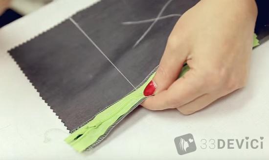 Как в юбку вшить потайную молнию с поясом и без: пошаговая инструкция