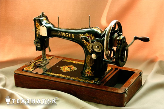 Заправка нити в швейную машину и оверлок