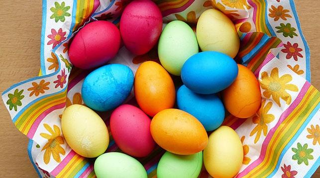 Есть вопрос. Как правильно варить и красить яйца на Пасху