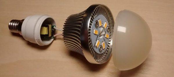 Как восстановить светодиодную лампу за 2 минуты при минимальных навыках работы с паяльником и знаниях об электронике
