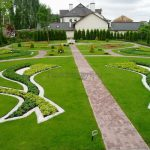 Дизайн газона на даче своими руками