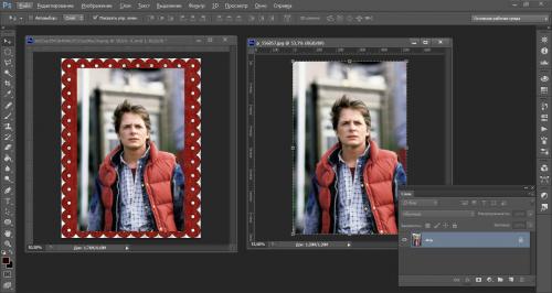 Как сделать рамку в Adobe Photoshop