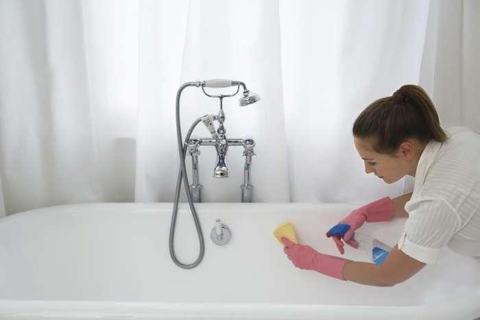 Как в домашних условиях сделать ванну белоснежной (чугунную или акриловую); текстовая и видео инструкция