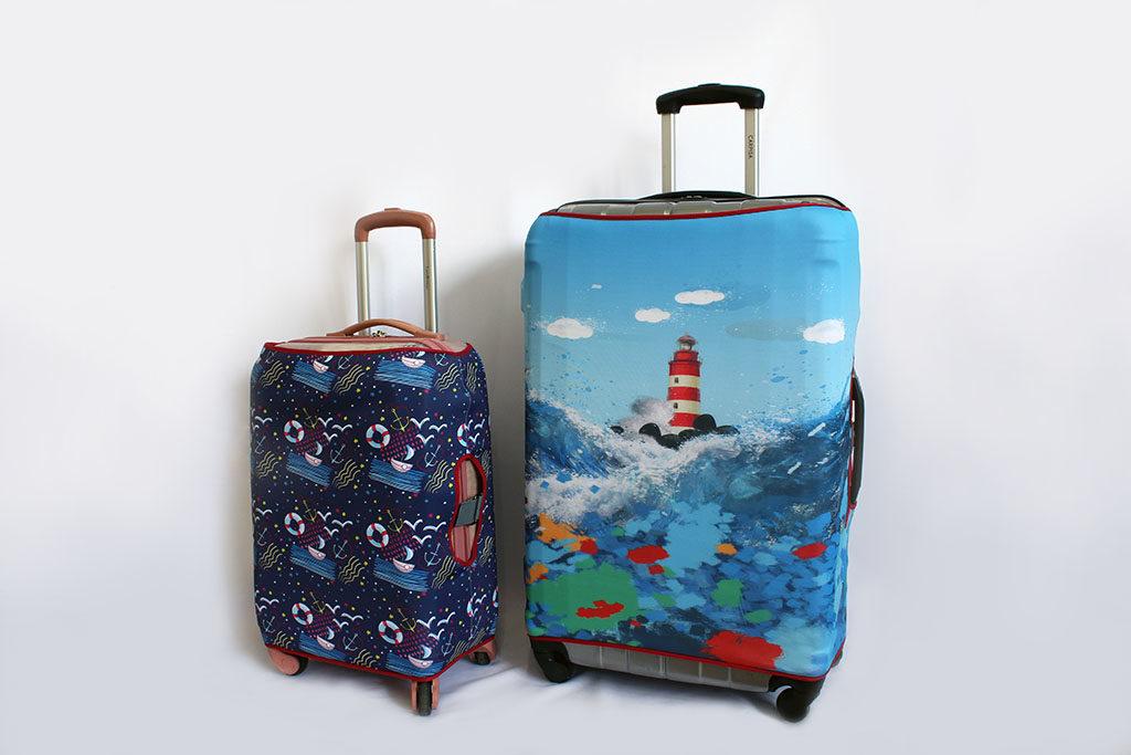 Выкройки для пошива чехла на чемодан своими руками, советы новичкам