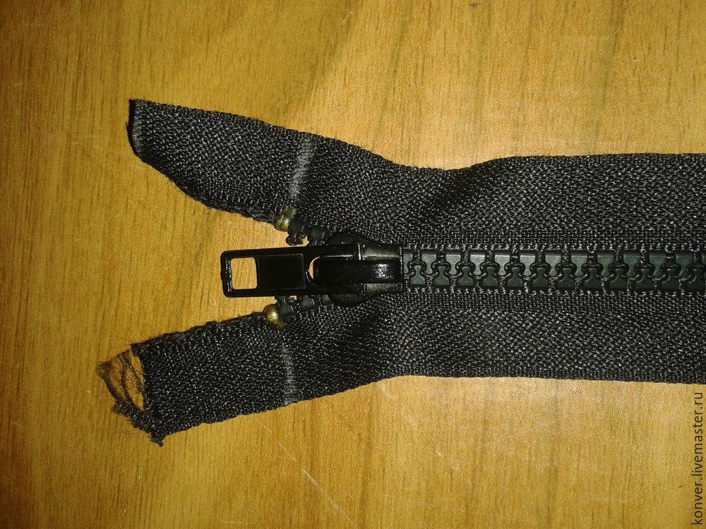 Ремонт одежды. Замена молнии в куртке