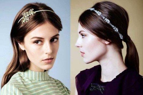 Обруч для волос (39 фото) – модное решение для любого образа