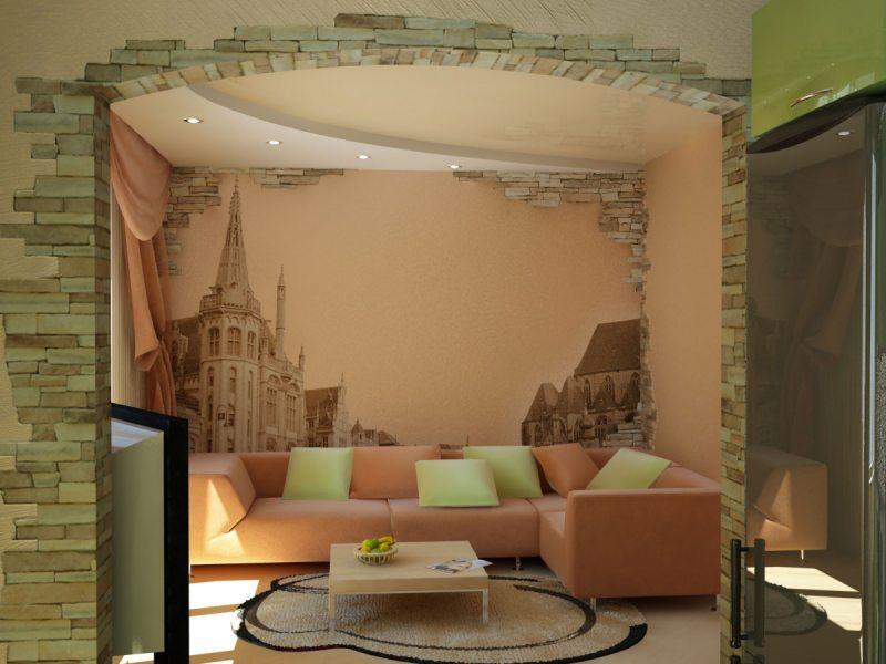 Как украсить стену в гостиной: от сложных инсталляций до хенд-мейда (79 фото видео)