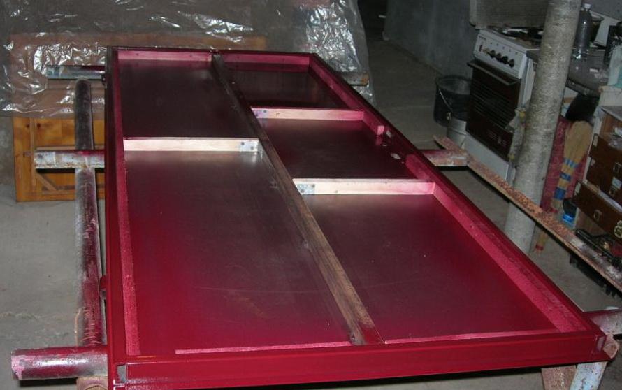 Как собрать и установить металлическую дверь своими руками