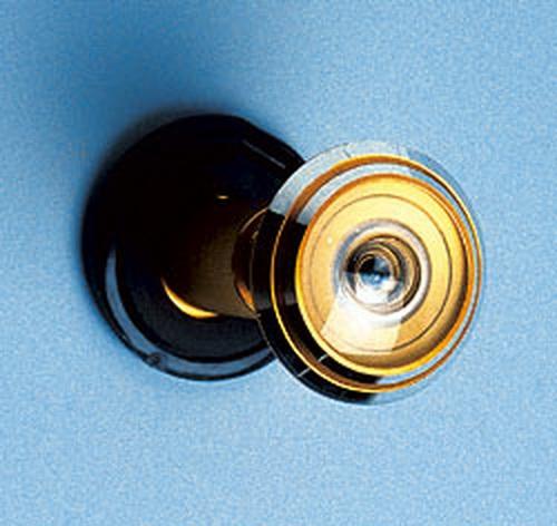 Как установить дверной глазок в металлическую дверь — идеи с фото