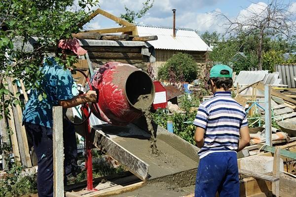 Состав бетона для фундамента: как приготовить и рассчитать нужное количество бетонной смеси