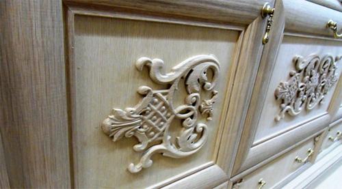 Способы декорирования деревянной мебели