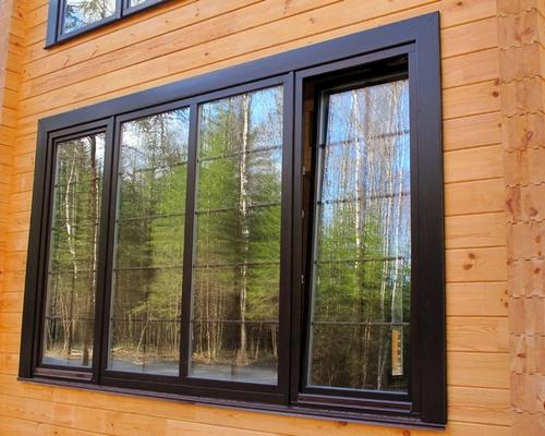 Какие окна лучше ставить в частный дом (коттедж)