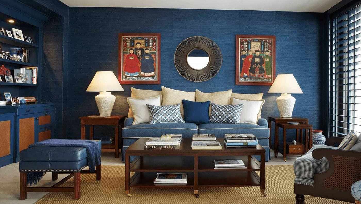 Впускаем морское спокойствие в дом: синий в интерьере