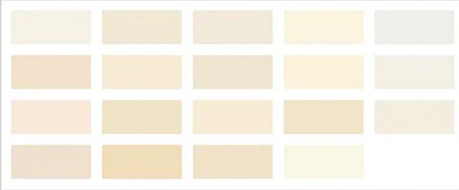 Загадка айвори, или Как получить цвет слоновой кости при смешивании красок