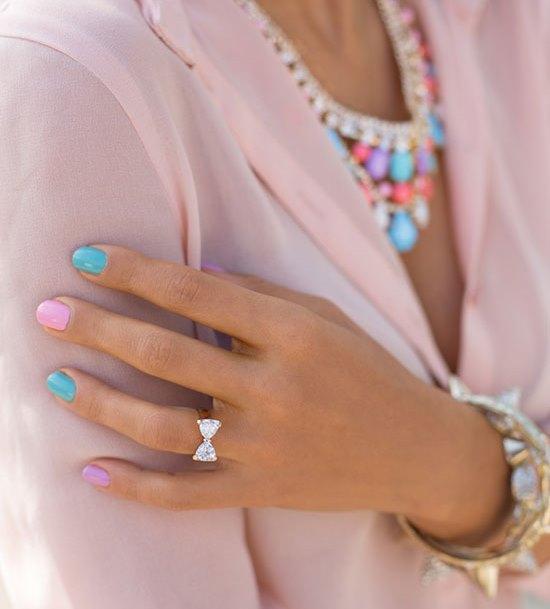 Как смешивать и сочетать цвета лака для ногтей