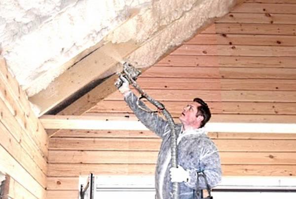Утепление крыши каркасного дома своими руками Пошаговая инструкция