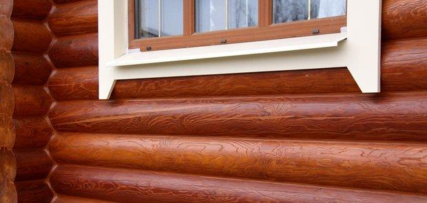 Какая бывает «косметика» для деревянного дома
