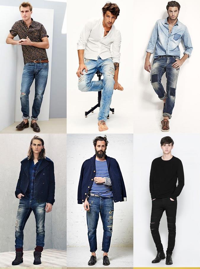 С чем носить мужские джинсы и как их выбрать