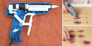 Как пользоваться клеевым пистолетом