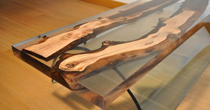 Как заработать на изготовлении столов из эпоксидной смолы и дерева