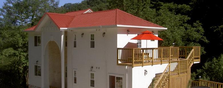 Вальмовая крыша: 65 фото частных домов