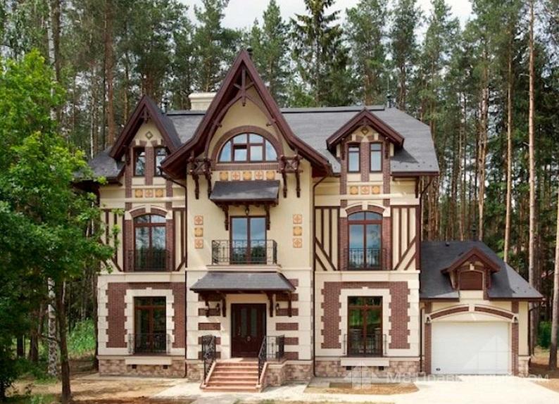Цвет крыши и фасада: как подобрать подходящее сочетание