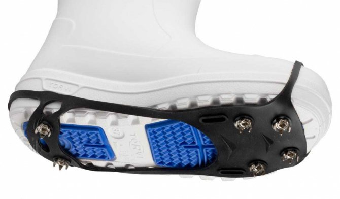 Делаем обувь анти-лед своими руками или как сделать, чтобы обувь не скользила