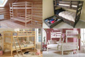 Двухъярусная кровать своими руками: 10 этапов простой сборки плюс идеи по подбору материалов
