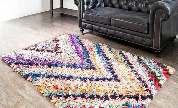 Как сделать коврик своими руками из старых вещей: мастер-класс пошагово: фото и схемы
