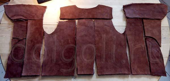 Меховые женские жилетки или что сделать из старой дубленки